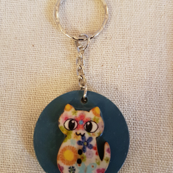 Cat keyrings