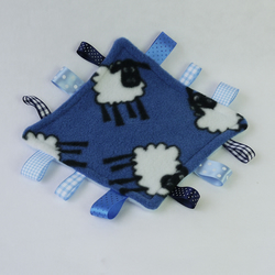 Midi Denim Blue Sheep comforter