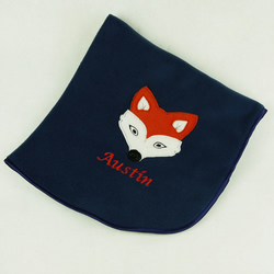 Personalised Fox Blanket