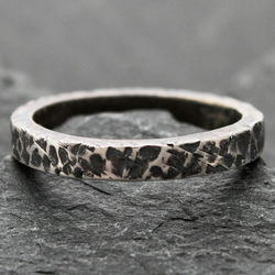 Burned Edge - an Oxidised Chunky Stacker
