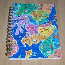 Jigsaw Notebook - Scotland (A5)