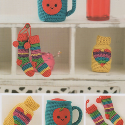 DMC Winter Warmers Amigurumi Crochet Pattern
