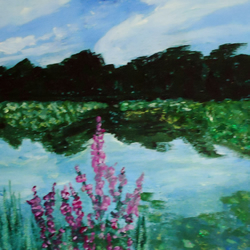 Lily Ponds - An Original Acrylic Painting