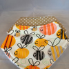 Bumble bee bandana dribble bibs pack of 2