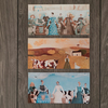 Set of 3 cards, Farmyard scenes, from original Judith Logan paintings
