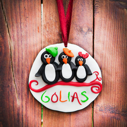 Personalised Family Christmas ornament