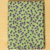 Wild pansy spring flower fabric fat quarter