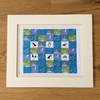 Mini puffin patchwork kit