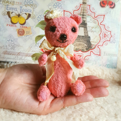 Phoebe OOAK Teddy Bear by Dandelion Bears
