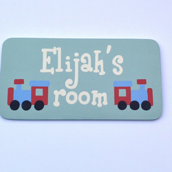 Children's Personalised Door Plaques
