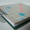 Scrabble Board Book 'your words here'