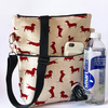 Dog walking bag, crossbody bag, shoulder bag , tote bag