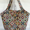 Tote bag bucket bag tapestry