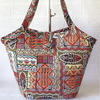 Tote bag, tribal bucket bag