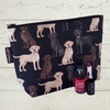 Makeup bag, Labradors