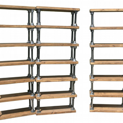 Vintage Industrial Rustic Scaffold Shelving Unit