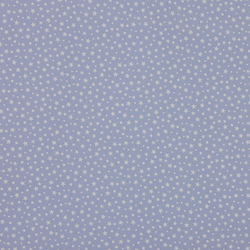 Fabric Freedom - Cotton Poplin - Stars - Powder Blue - Fat Quarter