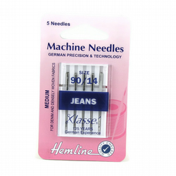 Hemline Machine Needles - Jeans 90-14