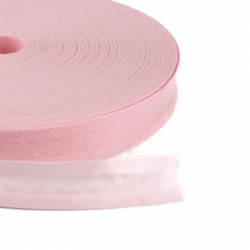 Bias Binding - 25mm - Baby Pink