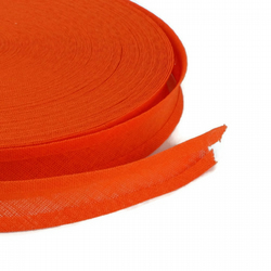 Bias Binding - 16mm - Orange