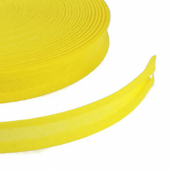 Bias Binding - 16mm - Yellow
