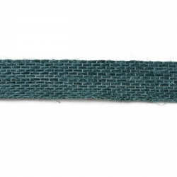 Open Weave Jute Ribbon - Teal - 15mm
