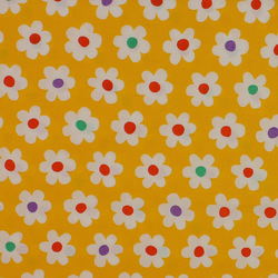 Sevenberry - White Flowers on Yellow - Fat Quarter