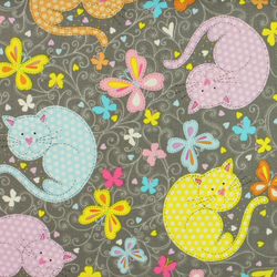 Windham Fabrics - The Cats Meow - Fat Quarter