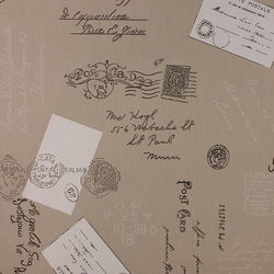 Postcards - Linen - half metre length