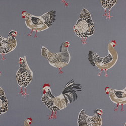 Rooster - Denim - half metre length