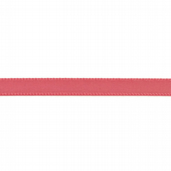 Double Satin Ribbon - Fantasy Rose Pink - 6mm