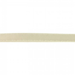 Double Satin Ribbon - Cream - 6mm