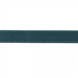Double Satin Ribbon - Dusty Teal - 10mm