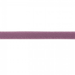 Double Satin Ribbon - Mauve - 6mm