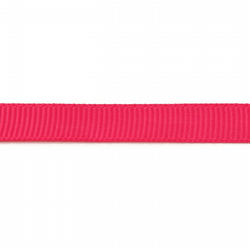 Grosgrain Ribbon - Bright Pink - 10mm