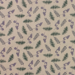 Fabric Freedom - Highland - Fern & Lavender - Fat Quarter