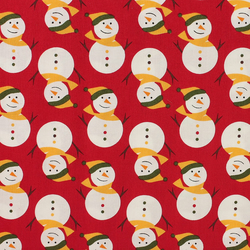 Fabric Freedom - Christmas Characters - Snowmen - Fat Quarter