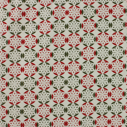 Fabric Freedom - Christmas Characters - Snowflakes - Fat Quarter