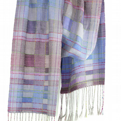 Silk scarf called 'Playing With Colours And Patterns'