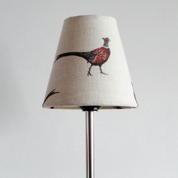 Candle Lampshade in Flohr&co Pheasant