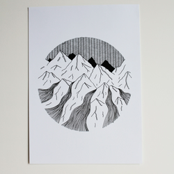 Mountains A4