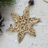 Christmas Gold Snowflake