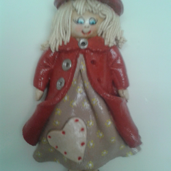 salt dough doll