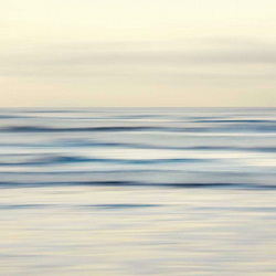 Abstract seascape wall art print dreamy seaside decor