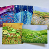 Landscapes, blank greetings card pack