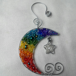 RAINBOW MOON & STAR