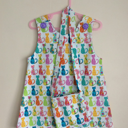 Girls Cats Dress Age 2-3 years