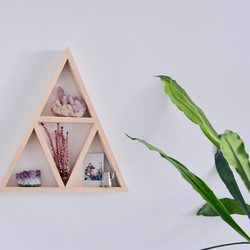 Triangle Shelf, Geometric Shelf