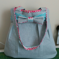 Large Hobo Bow Bag