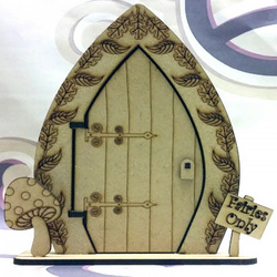 Wooden 3D Freestanding Fairy Door